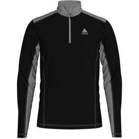 Odlo Steeze Midlayer 1/2 Zip Herren black/grey melange